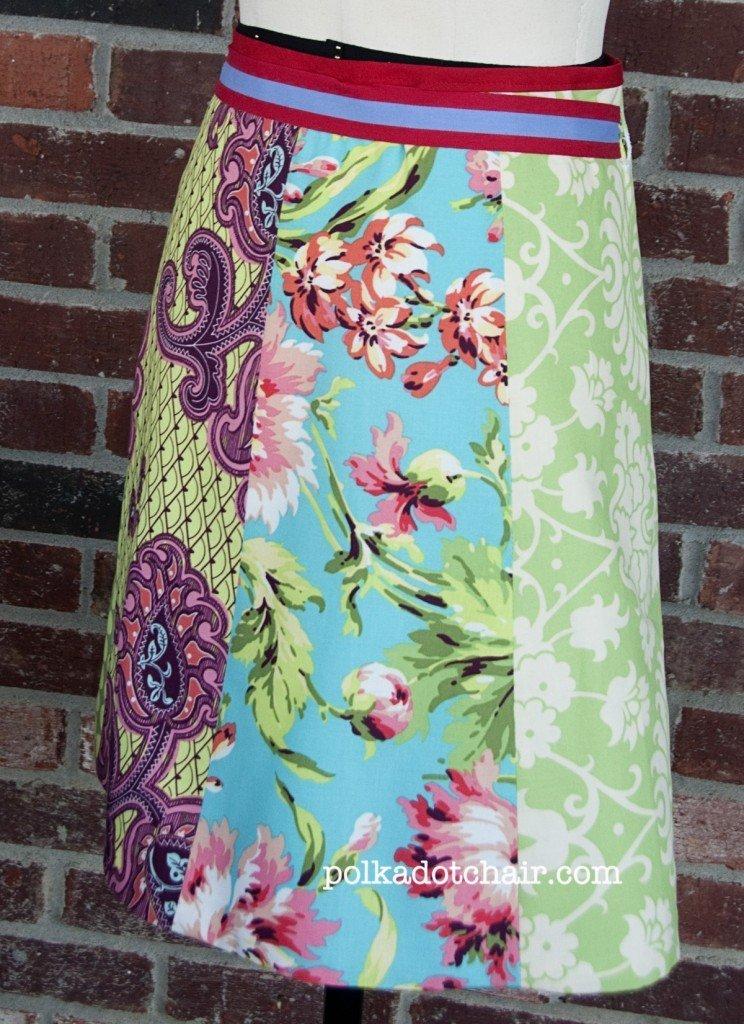 Free fat quarter skirt pattern