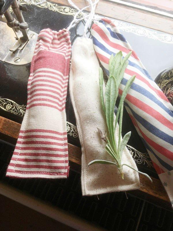 Pretty lavender bag project