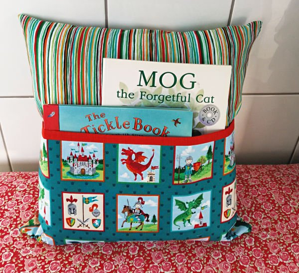 Sew a reading cushion