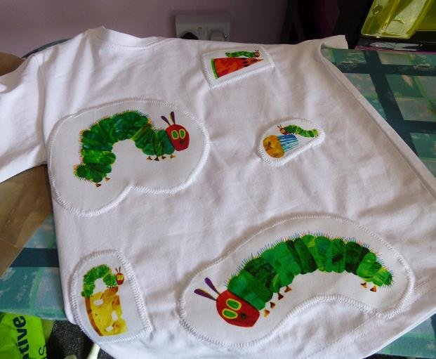 How to use applique in dressmaking
