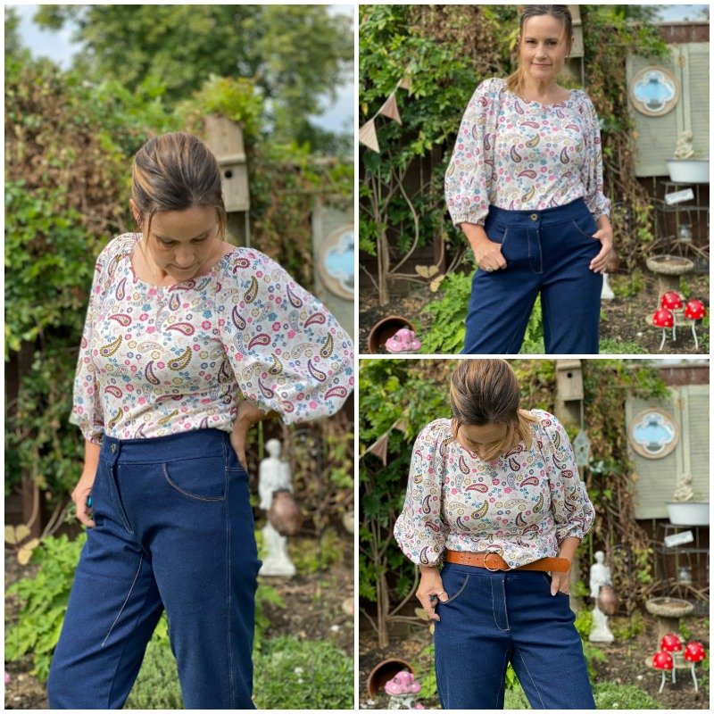 A review of the Gataway jeans pattern