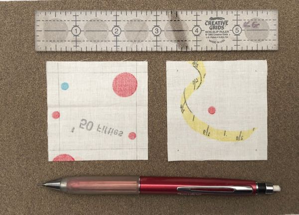 Hand piecing quilt blocks