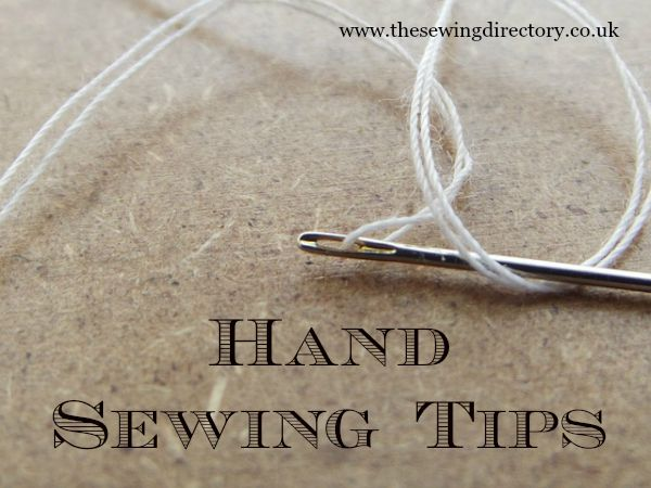tips for sewing by hand