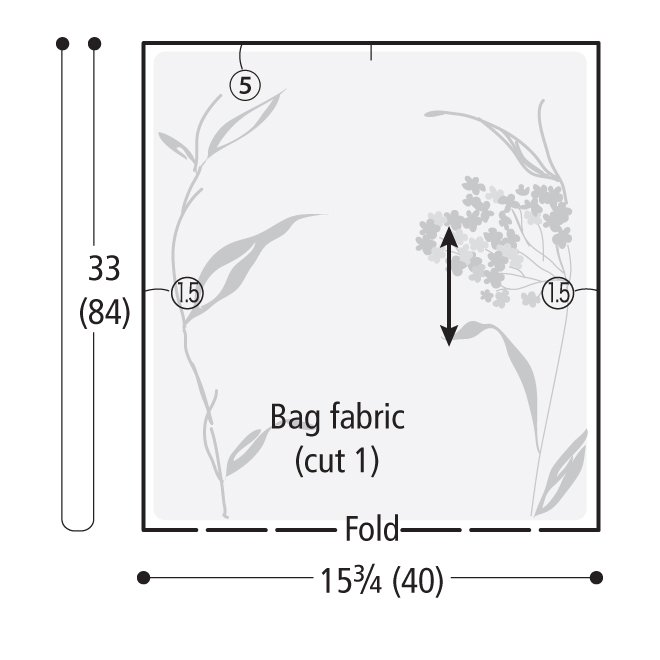 Drafting your bag pattern