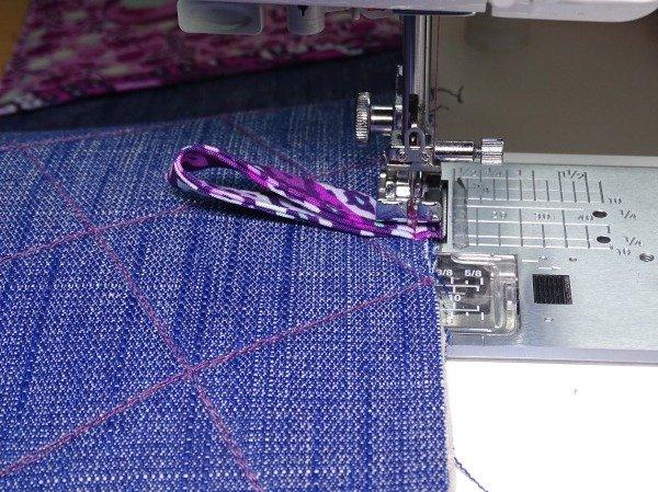 Making a hanging loop