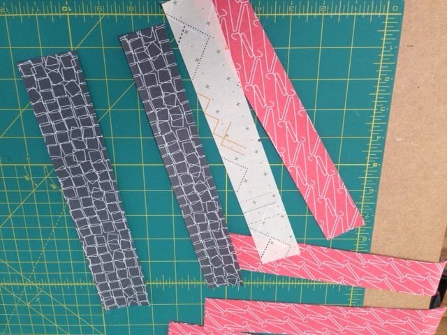 Sewing with strips