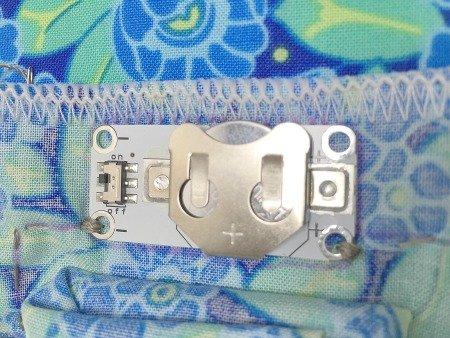 Sew an LED circuit