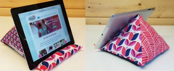 Sew an ipad or tablet rest