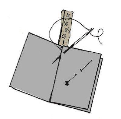 How to make a felt needlebook