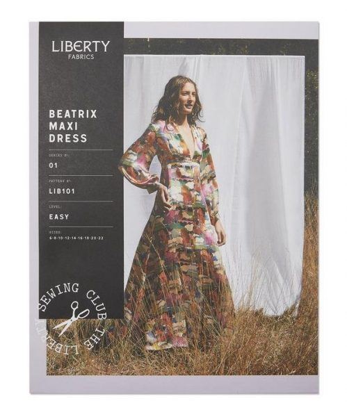 Liberty maxi dress sewing pattern