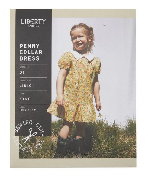 Liberty dress pattern for girls