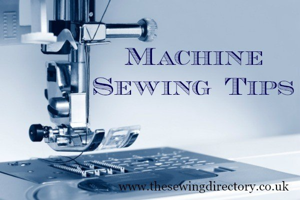 tips for using a sewing machine