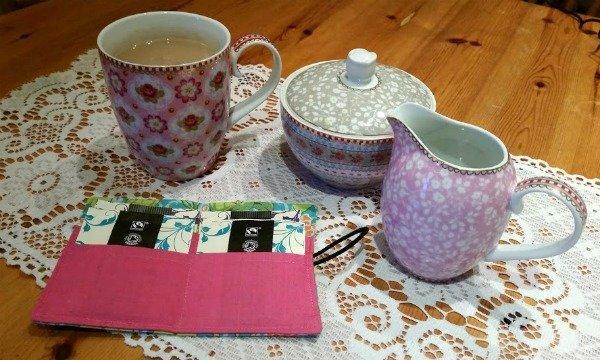 Tea bag holder tutorial
