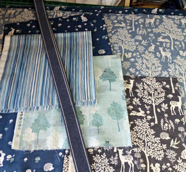 Makower woodland bag tutorial