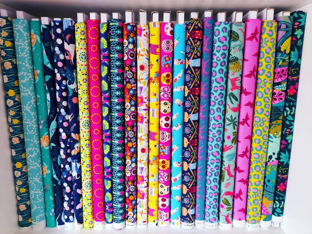 Fabrics for modern quilters