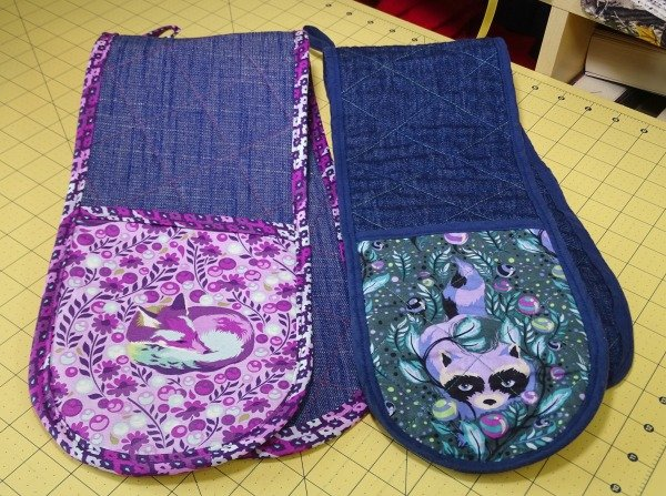 Oven glove sewing tutorial