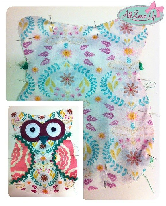 Fun cushions to sew for children