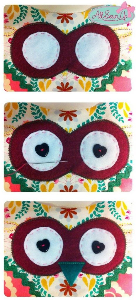How to sew a toy owl