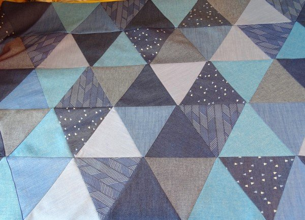 How to make a patchwork pag
