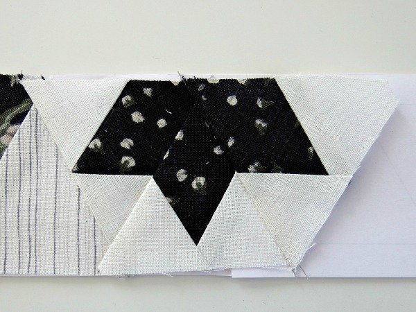 Star point quilt block