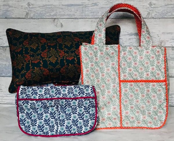 Adding piping to sewing projects