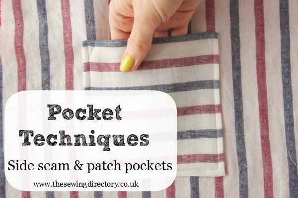 Sewing pockets