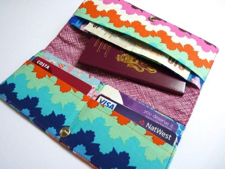 Fat quarter purse pattern