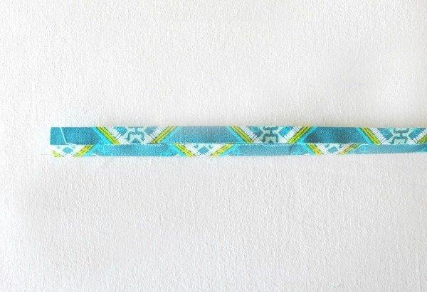 Make a fabric hanging strap