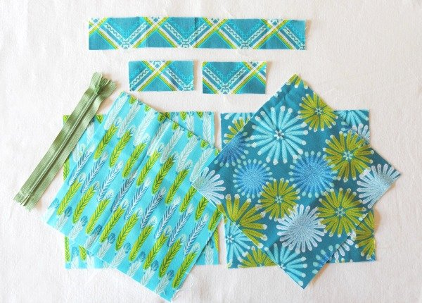 Sew with fat quarters