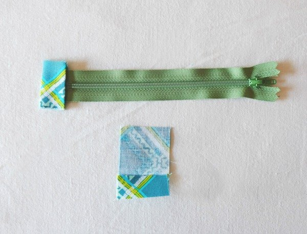 Make a tab end for a zip