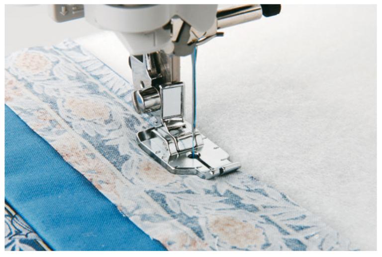 Sew accurate 1/4 inch seams