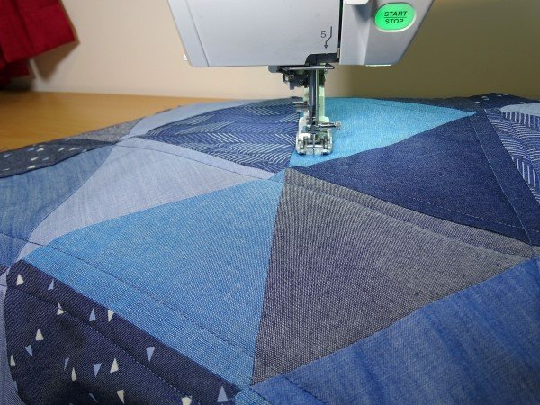 Quilting on a Janome Mc9400QCP