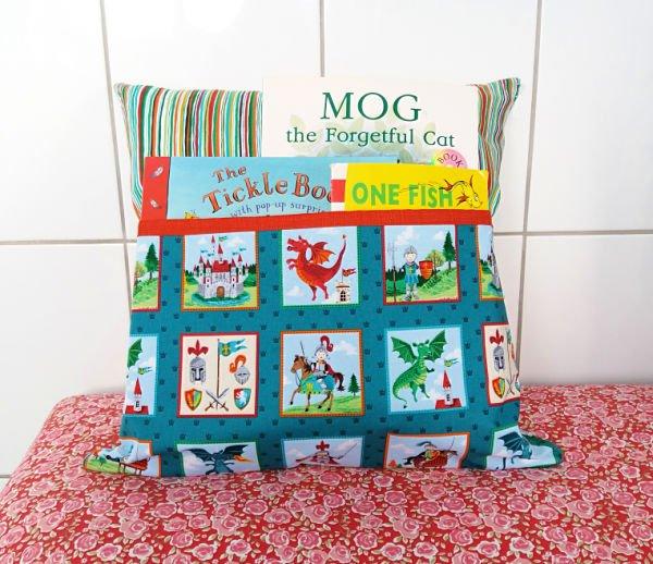 Sew a reading cushion