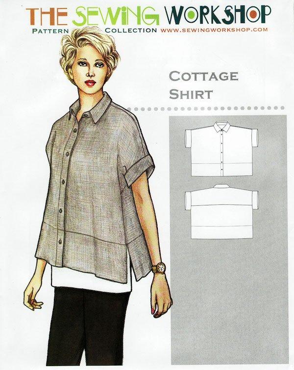 Shirt making with double gauze