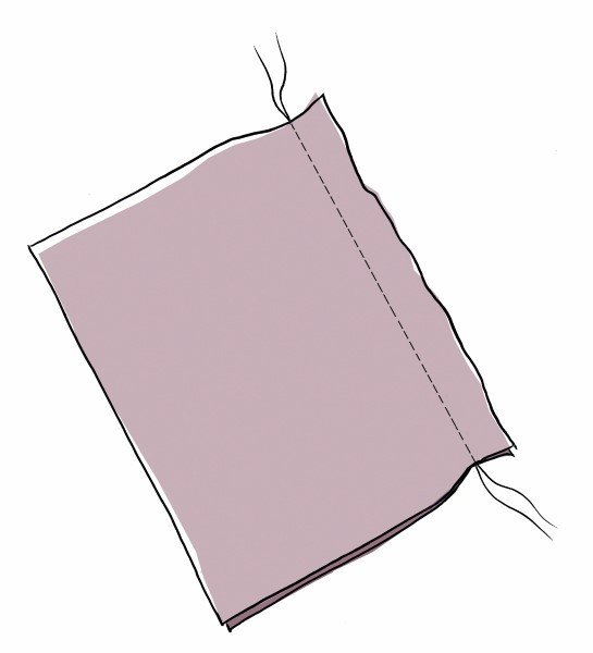 How to fix puckered seams