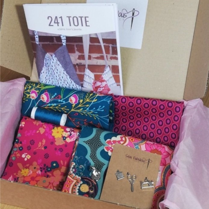 Monthly pattern and fabric subscription