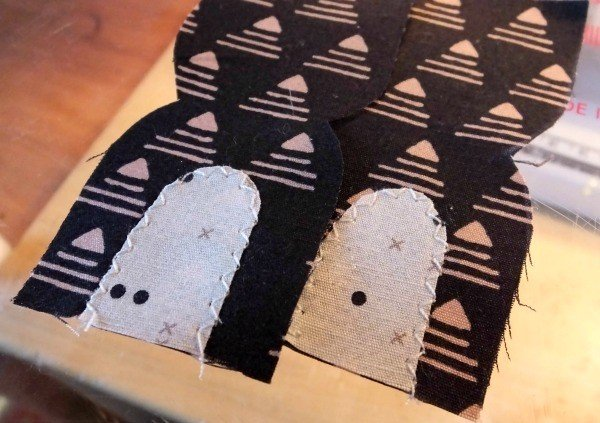 How to sew applique