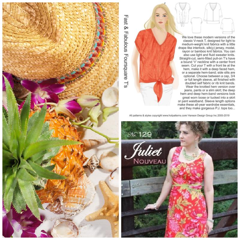 Summer dressmaking