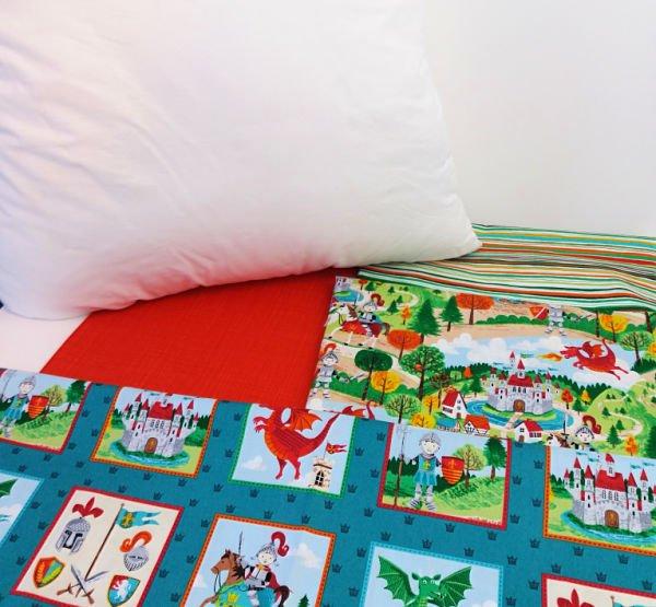 Fabrics to make a child's cushion