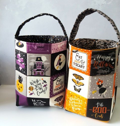 Trick or treat bag project