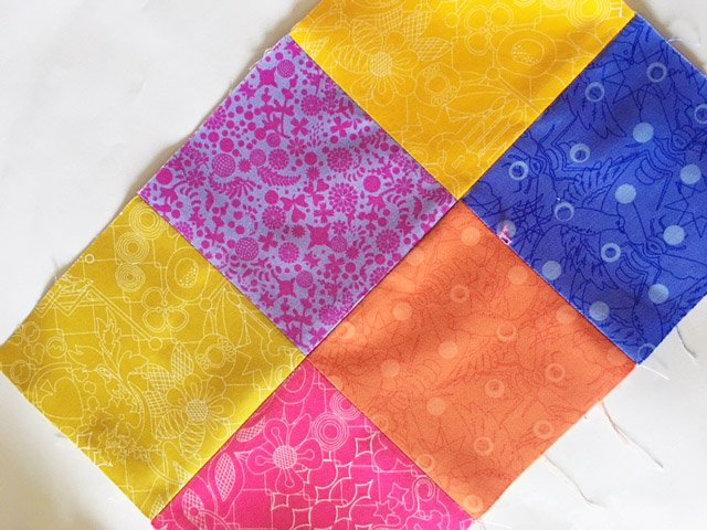 Sew with precut fabrics