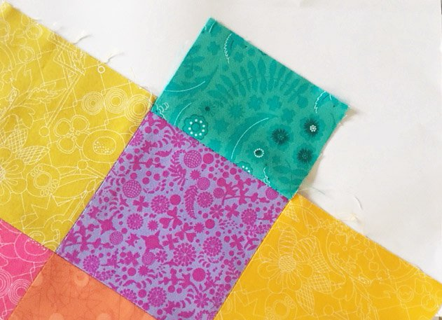 Sew a wallet using charm squares