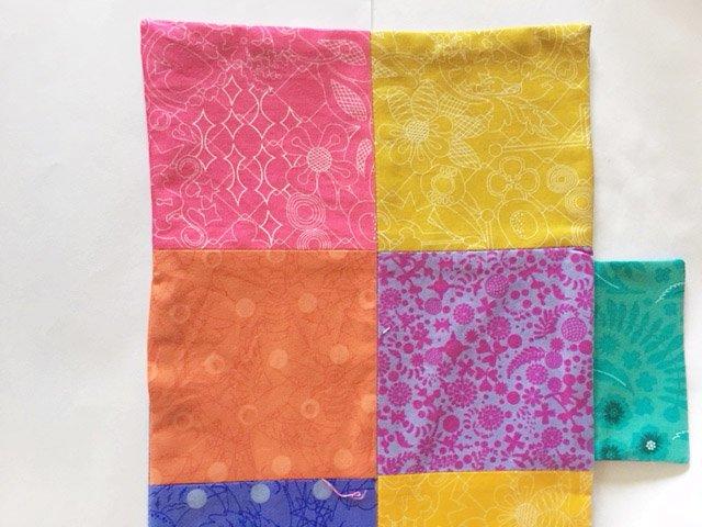Assembling a fabric wallet