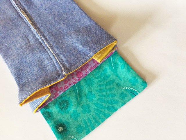 Sew a credit card holder