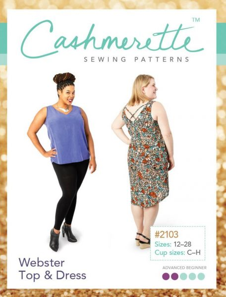Cashmerette plus size patterns