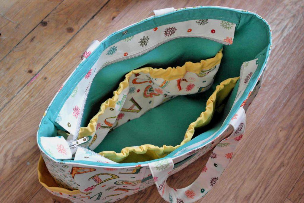 Bag making techniques - zip closure