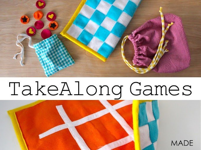 Children's games you can sew