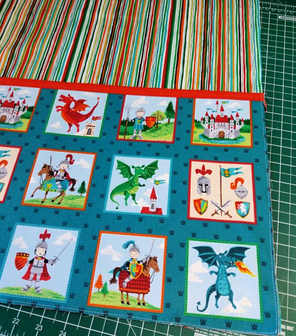 Childs' reading cushion project