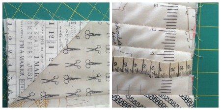 Sew an easy notebook cover