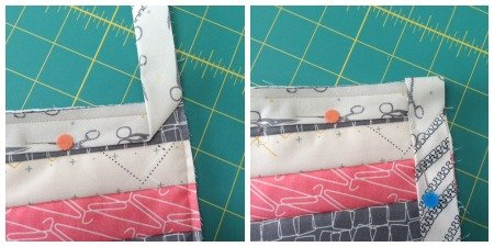 Sew an easy journal cover